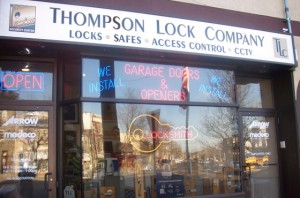 Thompson lock company